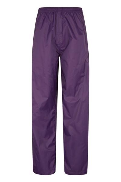 Pakka Womens Waterproof Overtrousers - Purple