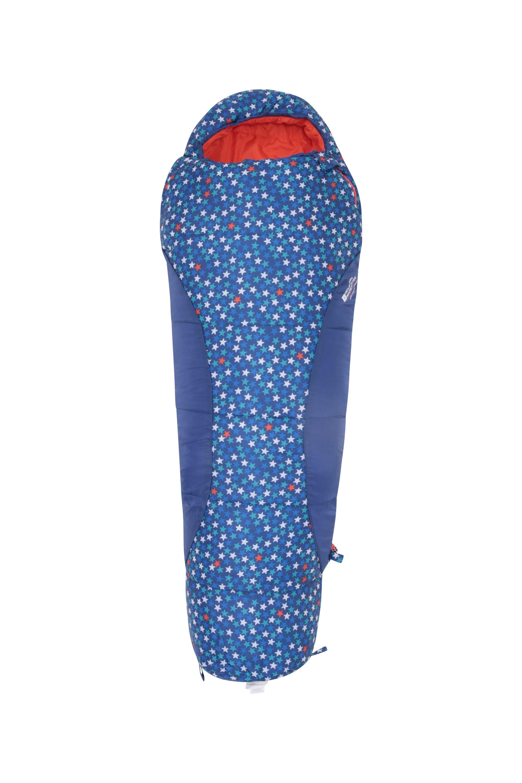 Apex Mini Patterned Sleeping Bag - Dark Blue