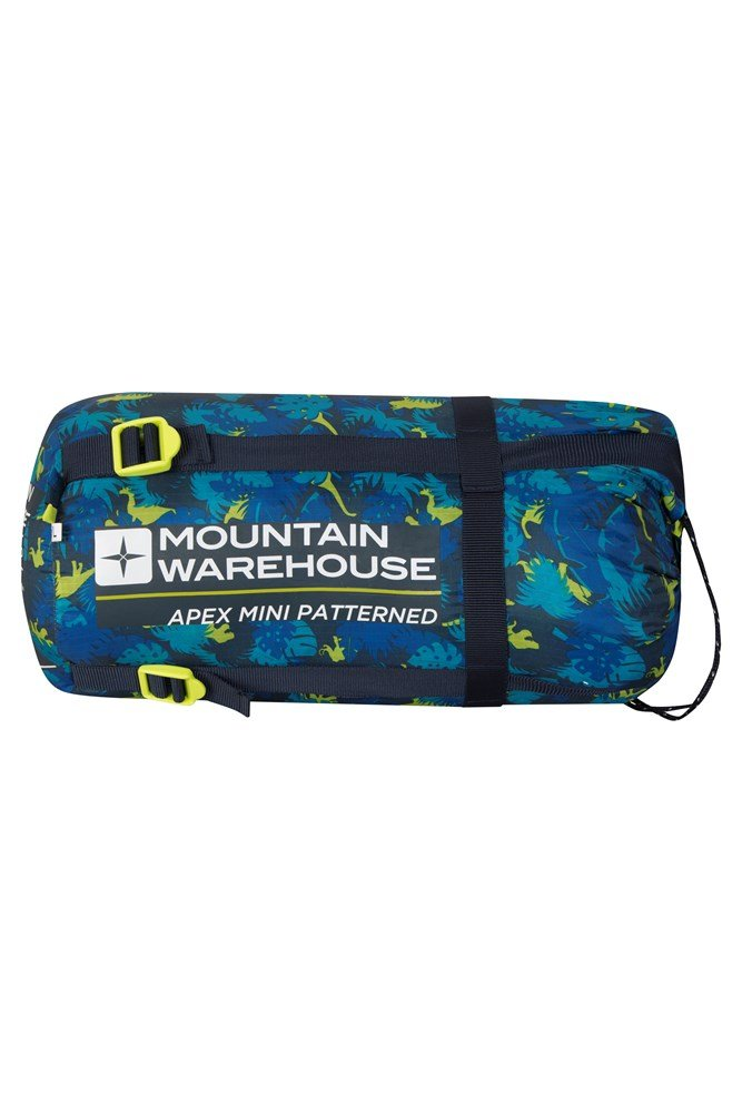 8d65c39a9438 Apex Mini Patterned Sleeping Bag | Mountain Warehouse US