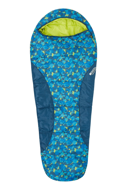 Sac de couchage Enfant randonnée camping Bivouac Apex Mini Sarcophage Momie - Turquoise UUNHBI