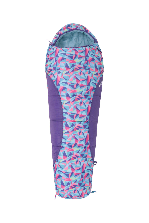 Apex Mini Patterned Sleeping Bag - Pink