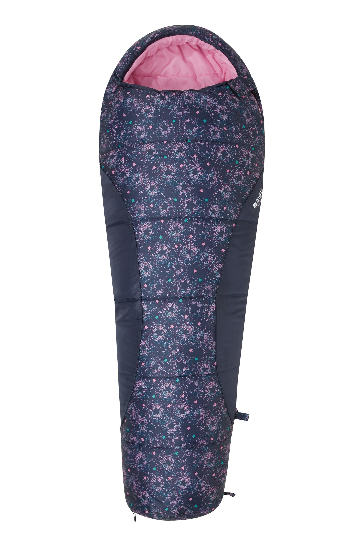 Apex Mini Patterned Sleeping Bag - Turquoise