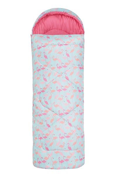 Apex Mini Square Patterned Sleeping Bag - Green