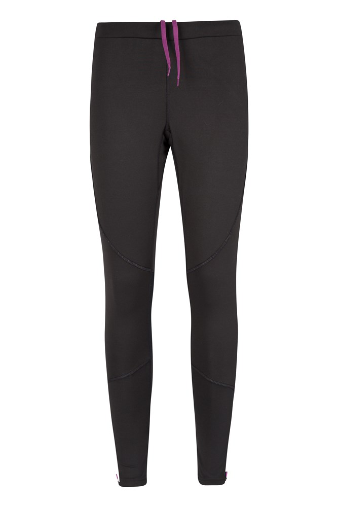 Sprint Womens Full Length Tights - Black