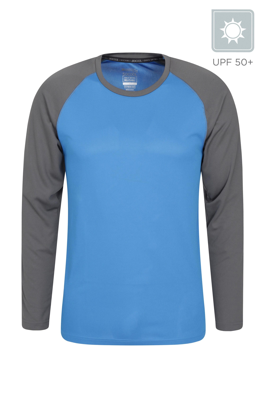 Endurance Mens Long Sleeved Top - Blue