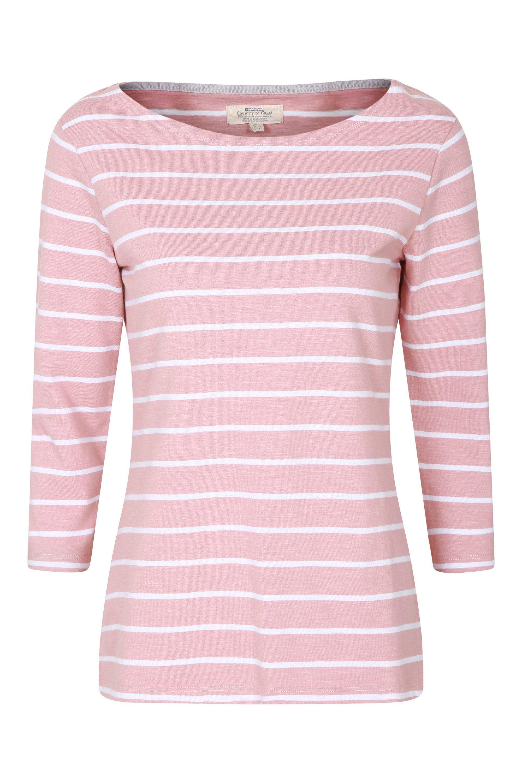 Mountain Warehouse Wms Paphos 3//4 Length Sleeve Button Top Tshirt