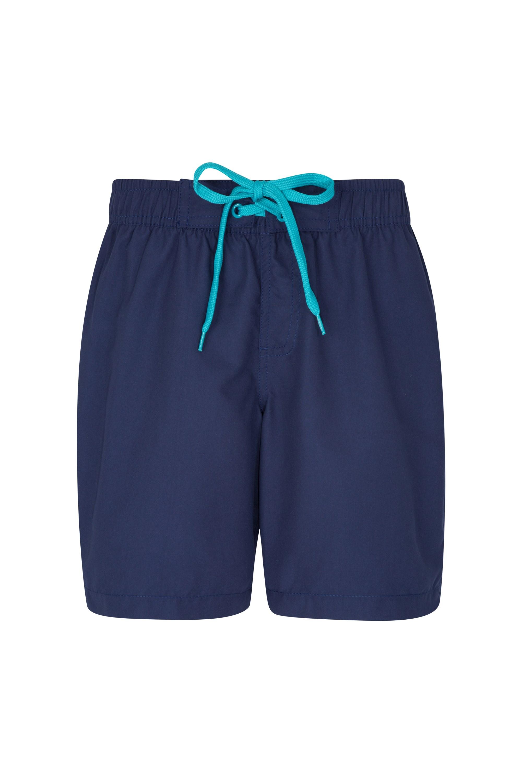 Long Womens Boardshorts - Blue