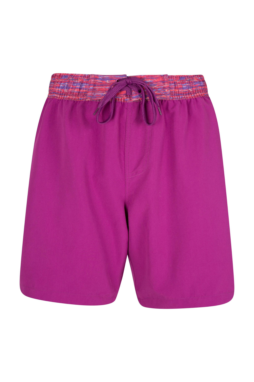 Long Womens Boardshorts - Pink