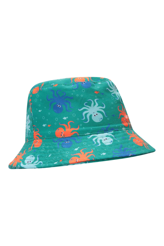 6439437c6f0 Printed Kids Bucket Hat