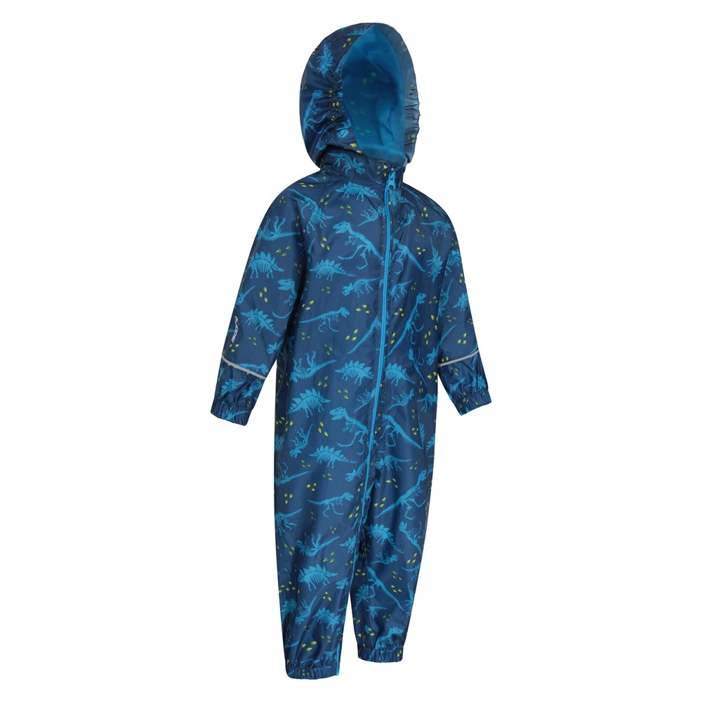 Mountain-Warehouse-Kids-Puddle-Waterproof-Rain-Suit-All-In-One-Toddlers-Children thumbnail 8