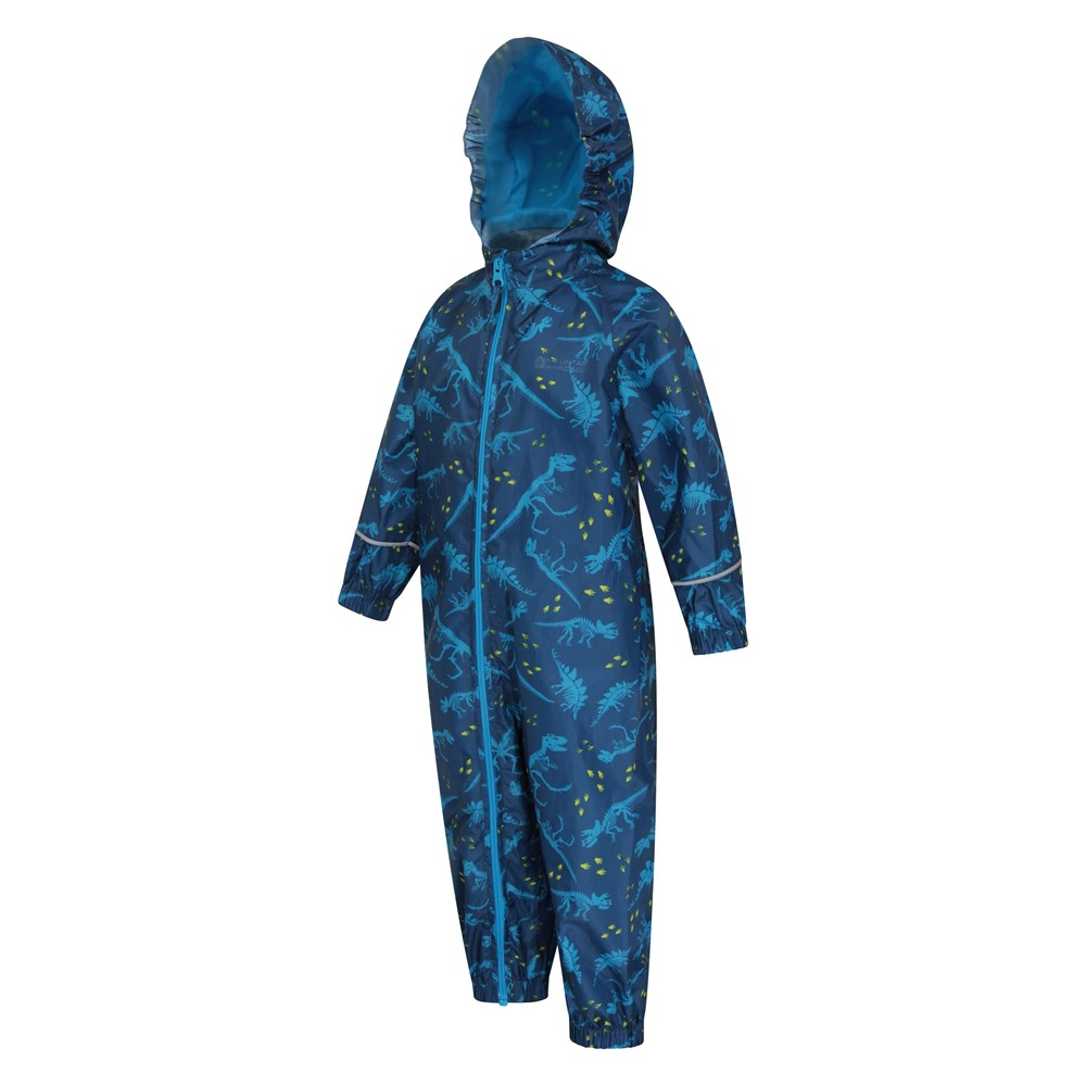 Mountain-Warehouse-Kids-Puddle-Waterproof-Rain-Suit-All-In-One-Toddlers-Children thumbnail 9