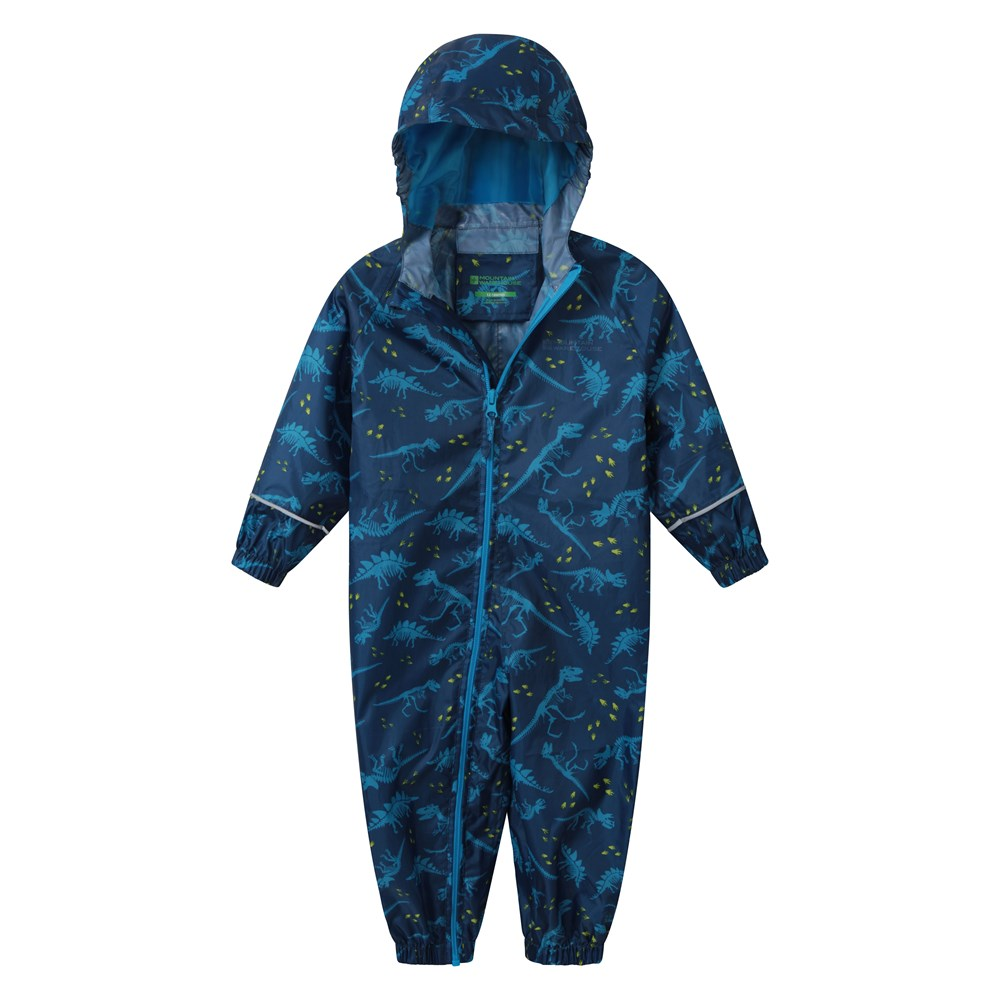 Mountain-Warehouse-Kids-Puddle-Waterproof-Rain-Suit-All-In-One-Toddlers-Children thumbnail 12