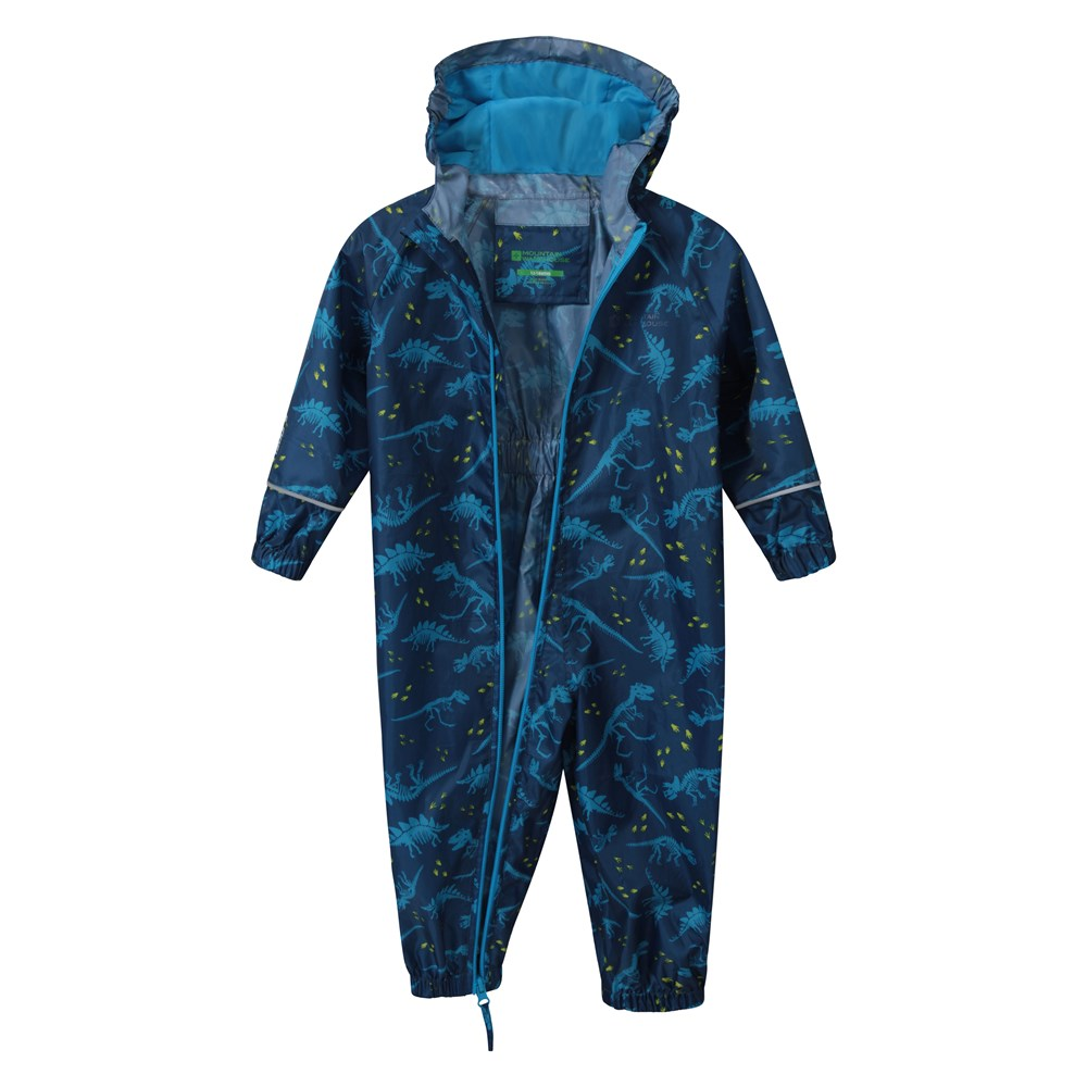 Mountain-Warehouse-Kids-Puddle-Waterproof-Rain-Suit-All-In-One-Toddlers-Children thumbnail 13