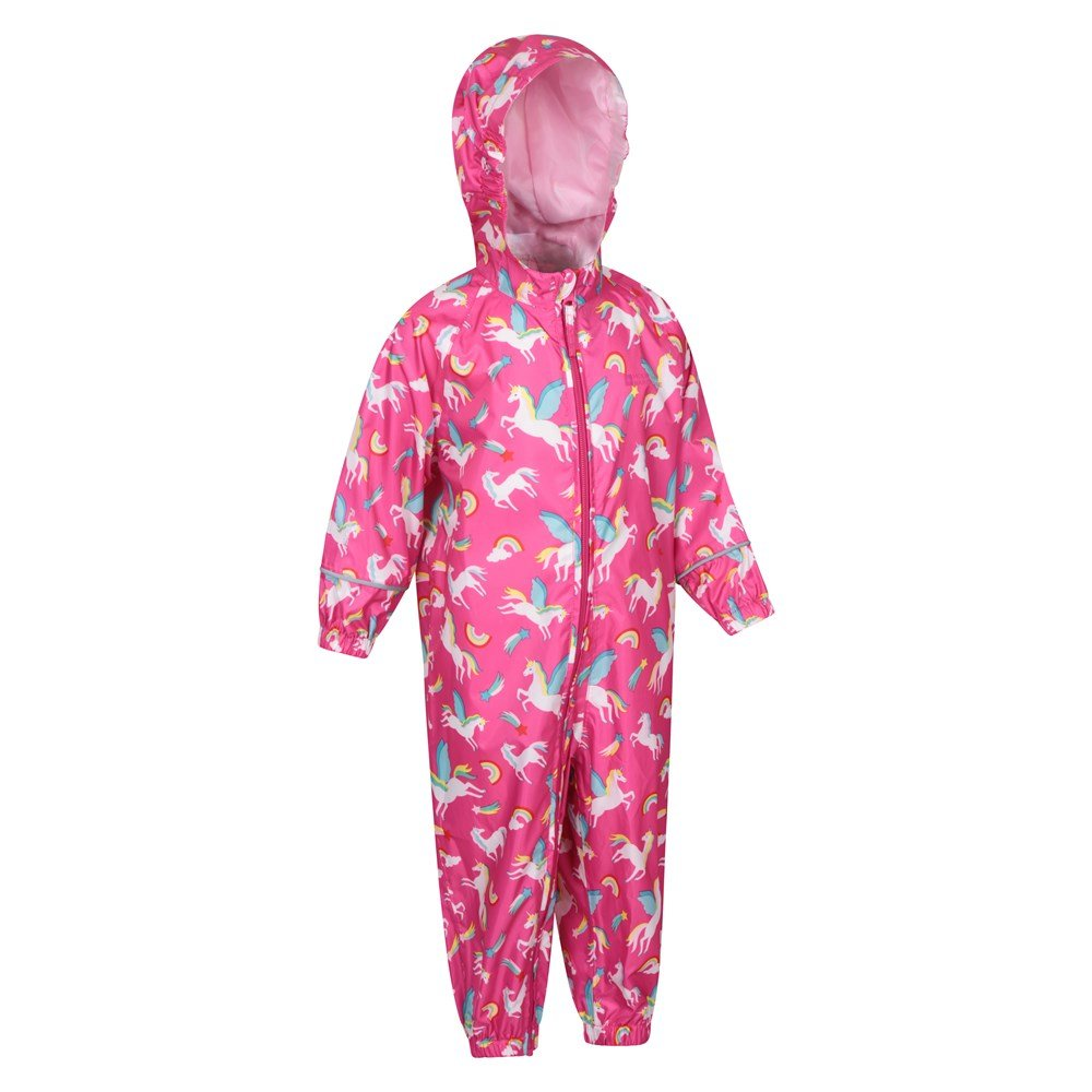 Mountain-Warehouse-Kids-Puddle-Waterproof-Rain-Suit-All-In-One-Toddlers-Children thumbnail 16