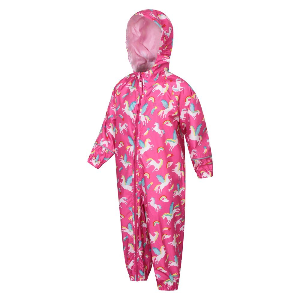 Mountain-Warehouse-Kids-Puddle-Waterproof-Rain-Suit-All-In-One-Toddlers-Children thumbnail 17