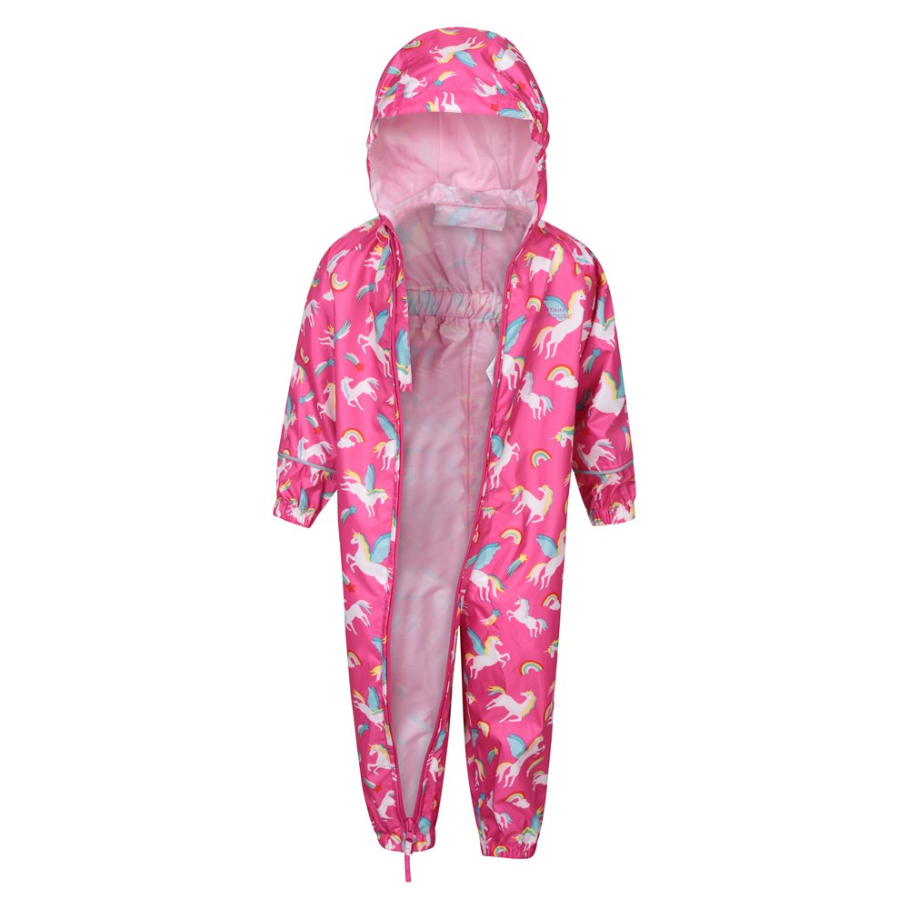 Mountain-Warehouse-Kids-Puddle-Waterproof-Rain-Suit-All-In-One-Toddlers-Children thumbnail 18