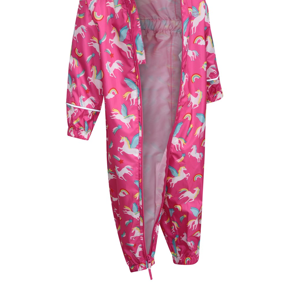 Mountain-Warehouse-Kids-Puddle-Waterproof-Rain-Suit-All-In-One-Toddlers-Children thumbnail 19