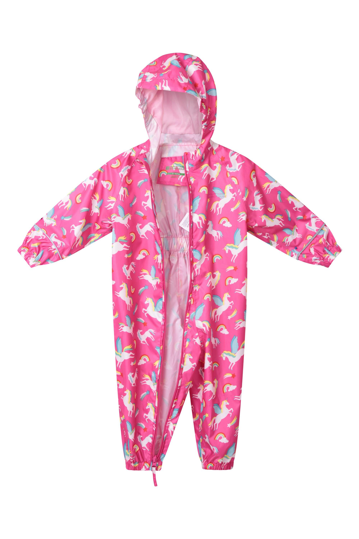 Mountain Warehouse Puddle Kids Waterproof Rain Suit