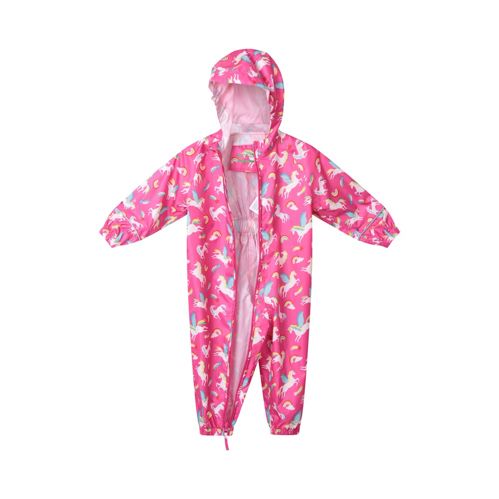 Mountain-Warehouse-Kids-Puddle-Waterproof-Rain-Suit-All-In-One-Toddlers-Children thumbnail 20
