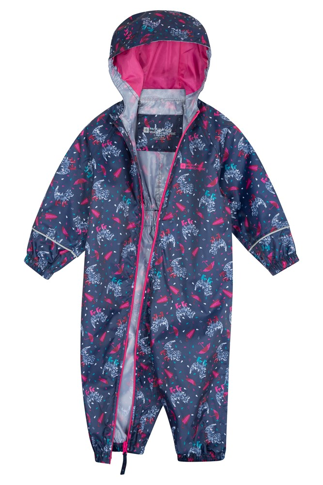78bcc779e Puddle Kids Printed Waterproof Rain Suit