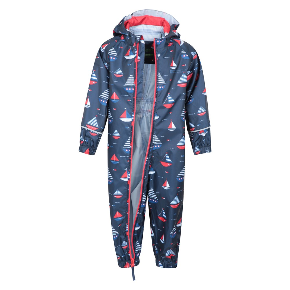 Mountain-Warehouse-Kids-Puddle-Waterproof-Rain-Suit-All-In-One-Toddlers-Children thumbnail 24