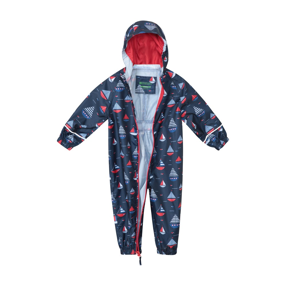 Mountain-Warehouse-Kids-Puddle-Waterproof-Rain-Suit-All-In-One-Toddlers-Children thumbnail 25
