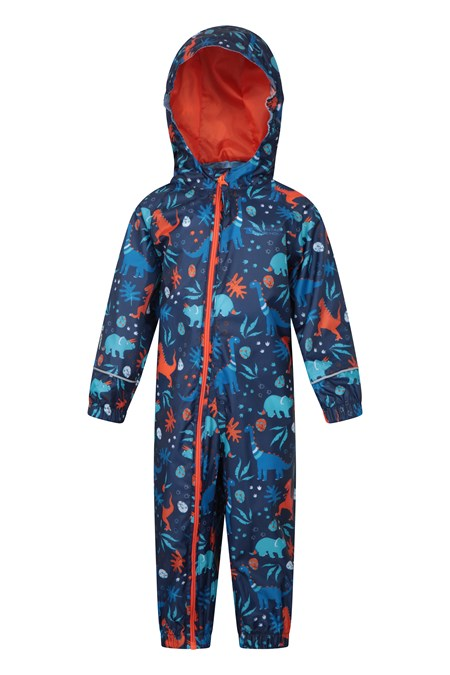 022661 PUDDLE PRINTED RAIN SUIT