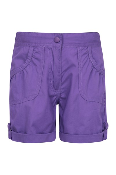 Shore Kids Shorts - Purple