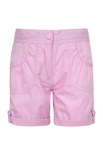 Shore Kids Shorts - Light Pink