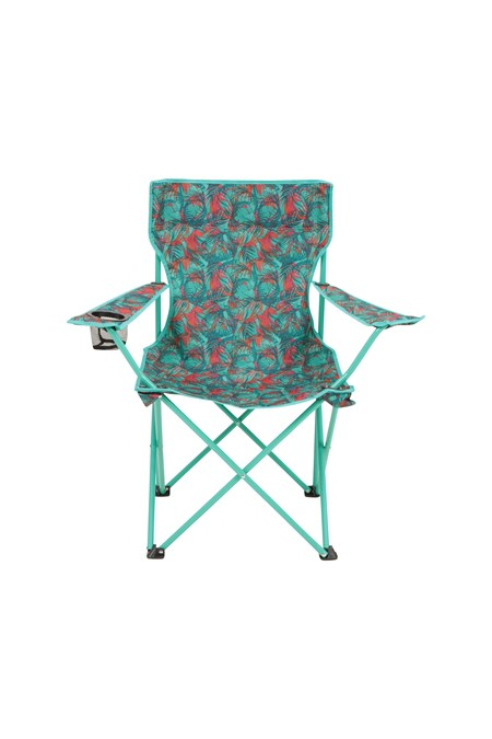 022668 FOLDING CHAIR - PATTERNED WEB
