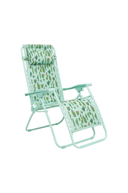 022677 RECLINING CHAIR - PATTERNED