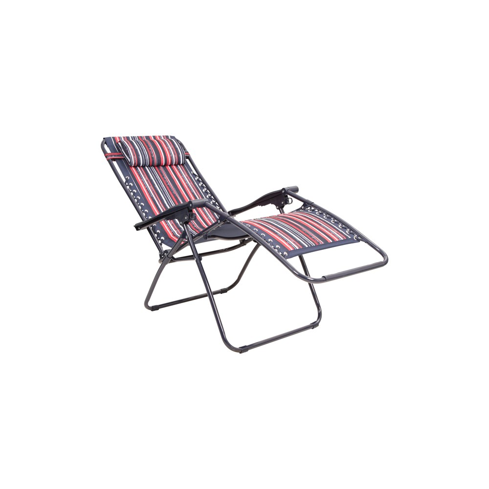 Mountain Warehouse Reclining Chair Camping Steel Frame ...