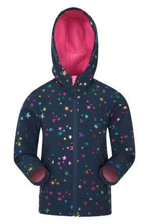 Exodus Kids Printed Water Resistant Softshell
