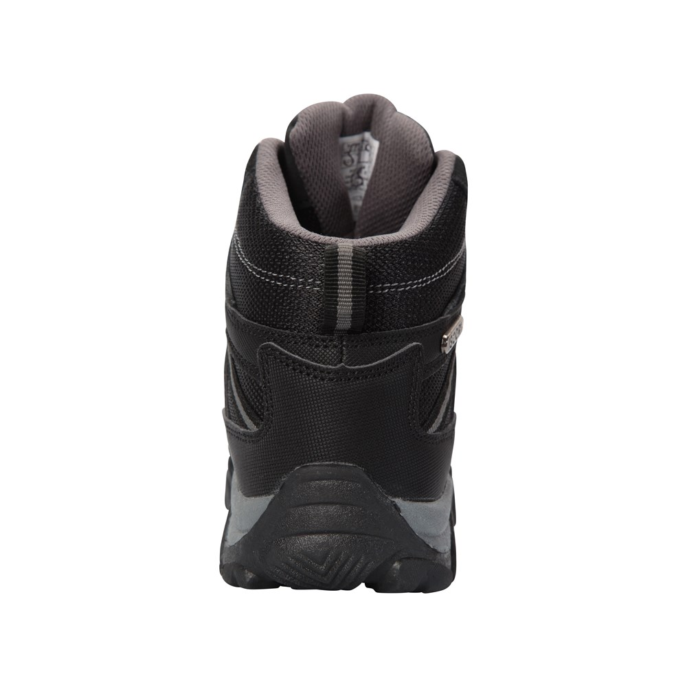 Mountain Warehouse Boys Waterproof Boots Suede /& Mesh Upper with Ankle Padding
