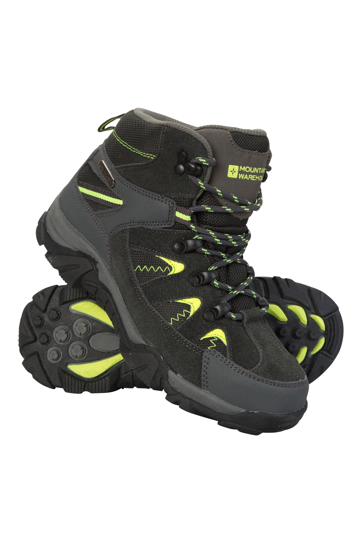Rapid Waterproof Kids Walking Boots - Green