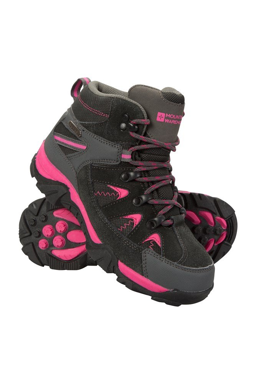 Rapid Waterproof Kids Walking Boots - Pink