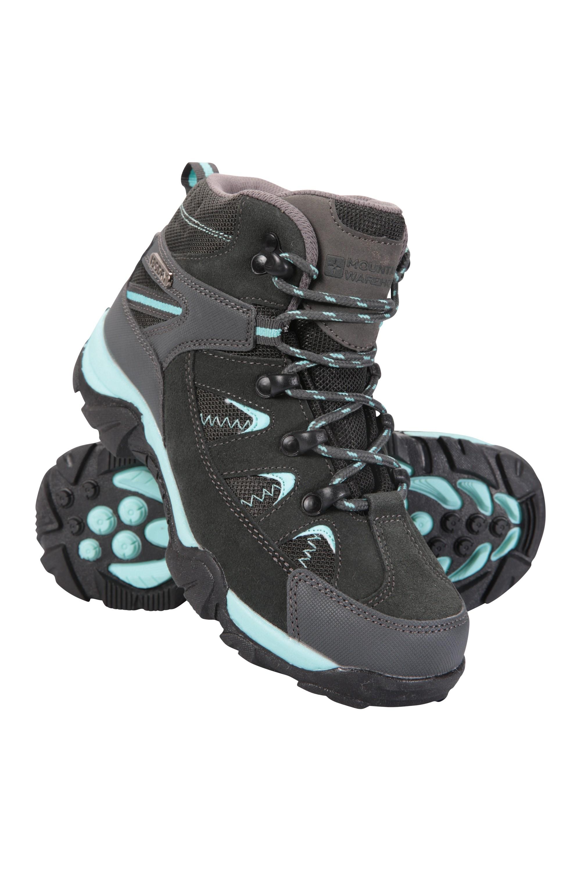Rapid Waterproof Kids Walking Boots - Teal