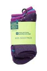Spot Girls Cotton Socks - Pack of 5