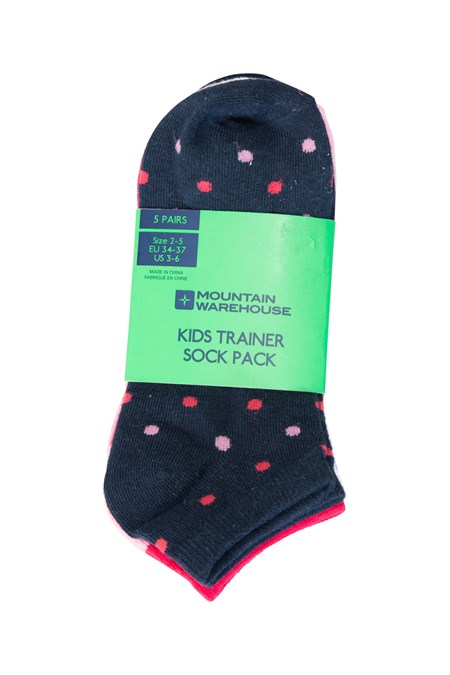 022730 SPOT TRAINER KIDS SOCK 5 PK