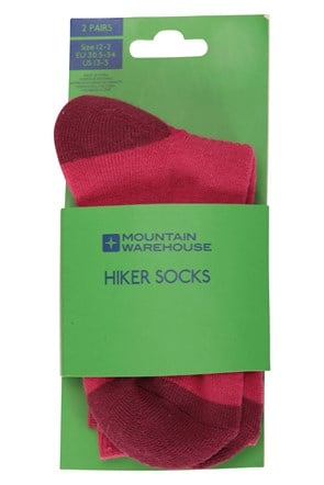 Hiker Kid's Socks 2 Pack