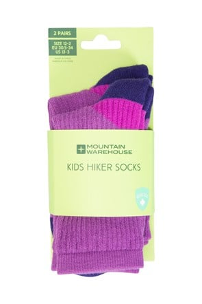 Hiker Kids Socks 2 Pack