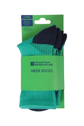 Hiker Kindersocken Doppelpack