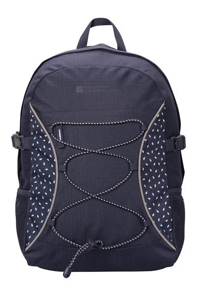 Bolt 18 Litre Backpack - Patterned - Dark Blue