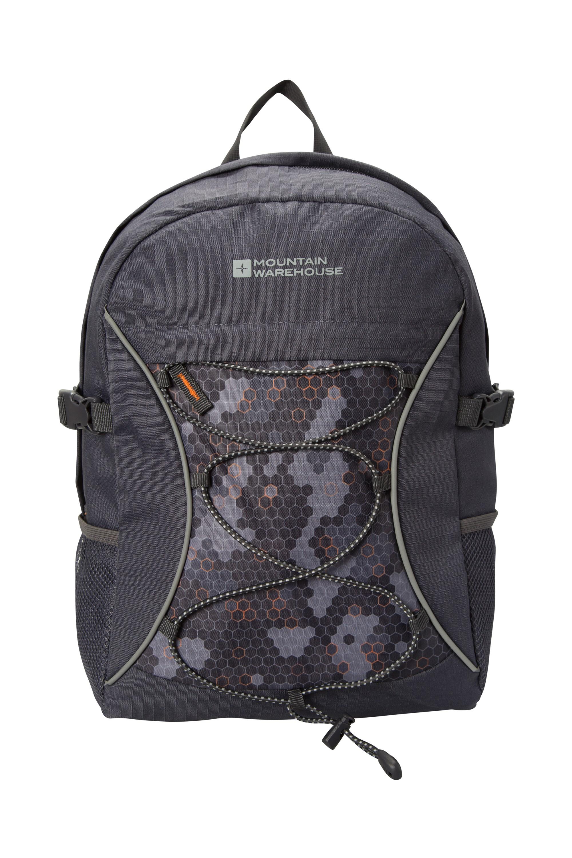 Bolt 18 Litre Backpack - Patterned - Grey