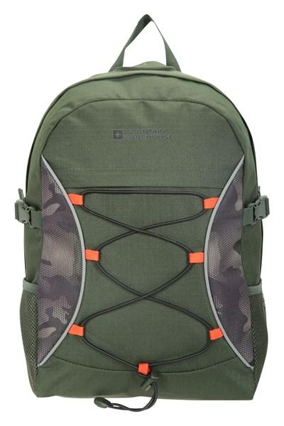 Bolt 18 Litre Backpack - Patterned - Green