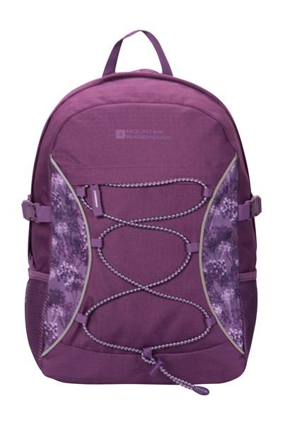 Bolt 18 Litre Backpack - Patterned - Purple