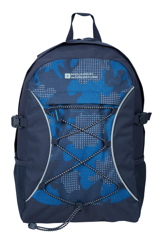 Bolt 18 Litre Backpack - Patterned - Teal