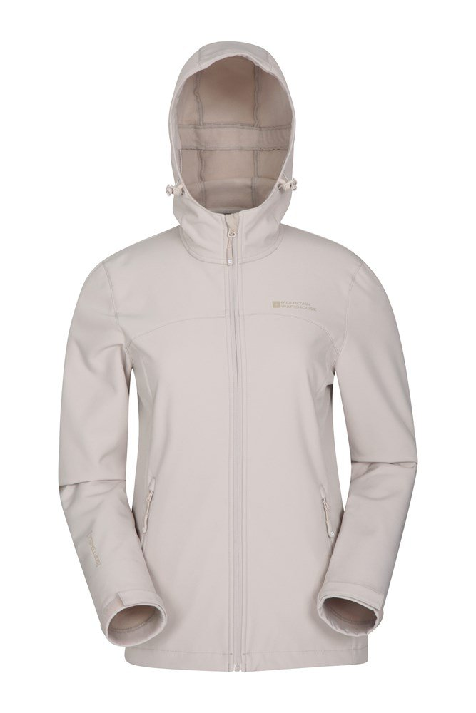 Water Resistant Shell Mountain Warehouse Womens Softshell Jacket
