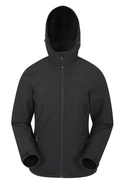 Exodus Womens Softshell Jacket - Black