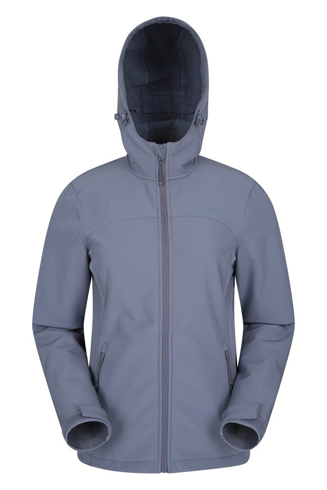 Exodus Womens Softshell Jacket - Grey